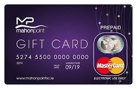 Mahon Point Prepaid MasterCard Gift Card