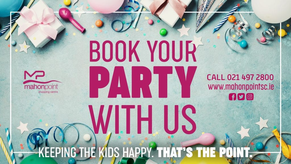 Kids birthday party venues Cork