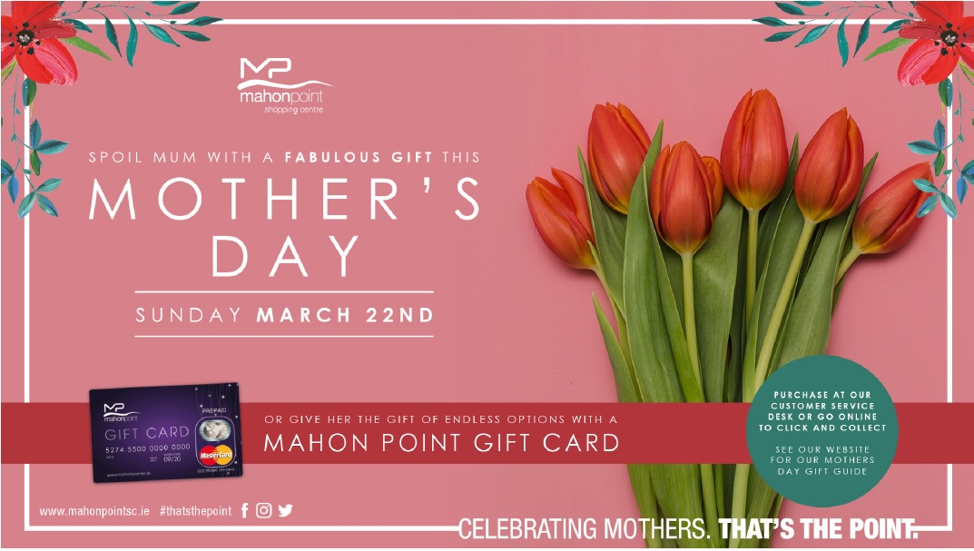 Mother S Day Gift Guide Gift Ideas Cork Mahon Point Shopping Centre
