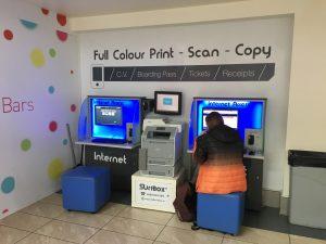 Printing Kiosk Cork