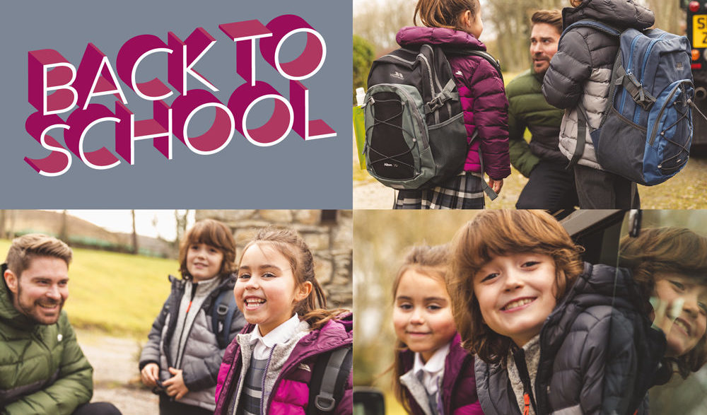 Trespass have up to 50% off back to school jackets